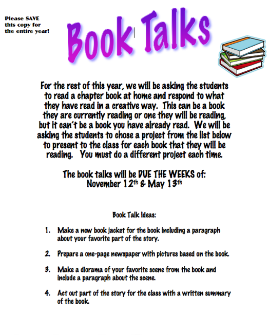 book report examples